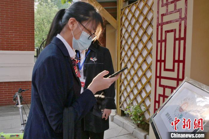 北京高三年级返校复课学生:终于回到阔别已久的学校