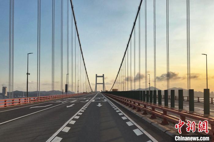 虎门大桥管理方:38号吊索已于去年完成更换