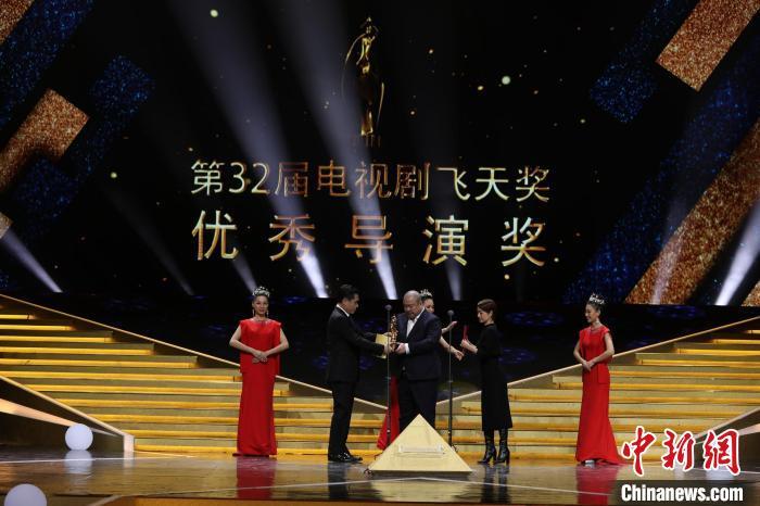 """明星云集""""飞天奖""""""""星光奖""""颁奖典礼获奖名单揭晓"""