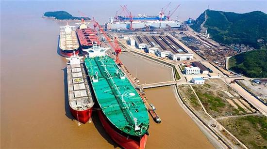 舟山4家船企跻身全球十大修船厂